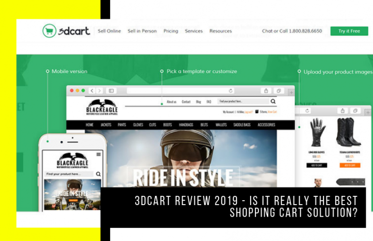 3Dcart Review 2020 – Is It Really the Best Shopping Cart Solution?