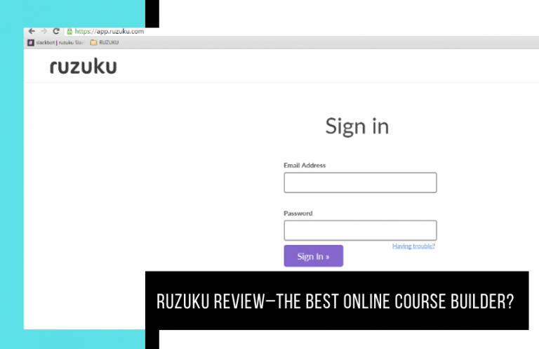 Ruzuku Review [2020]: The Best Online Course Builder?