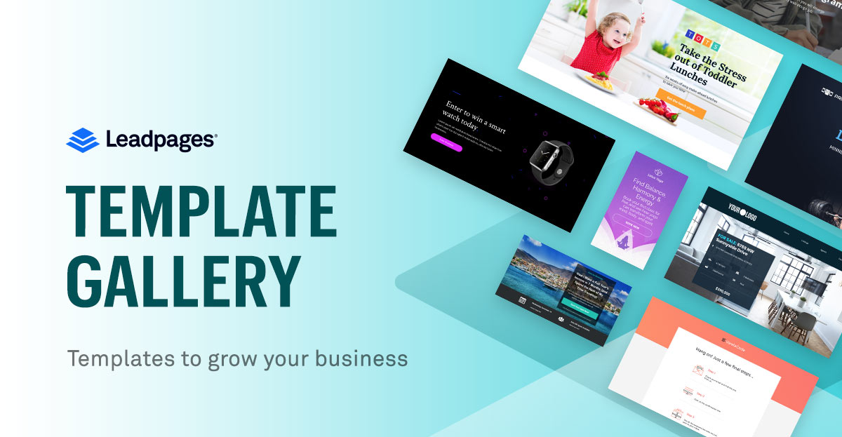 leadpages template gallery