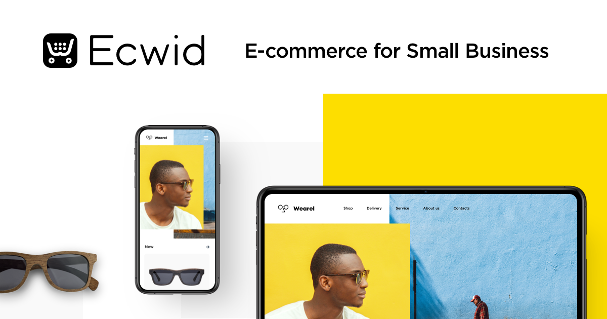 Ecwid eCommerce for small business