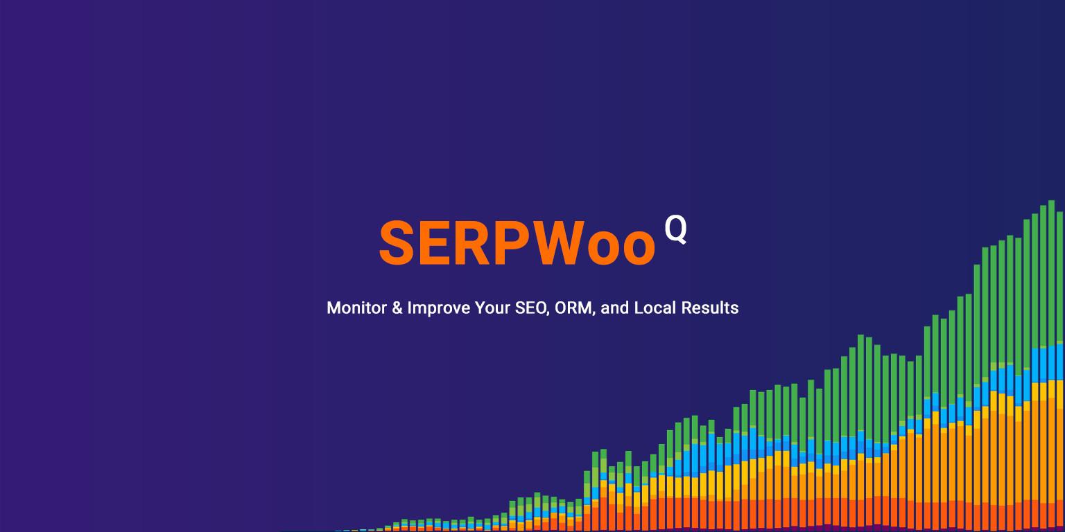 SERPWoo home page