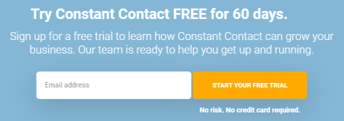 constant contact free trial