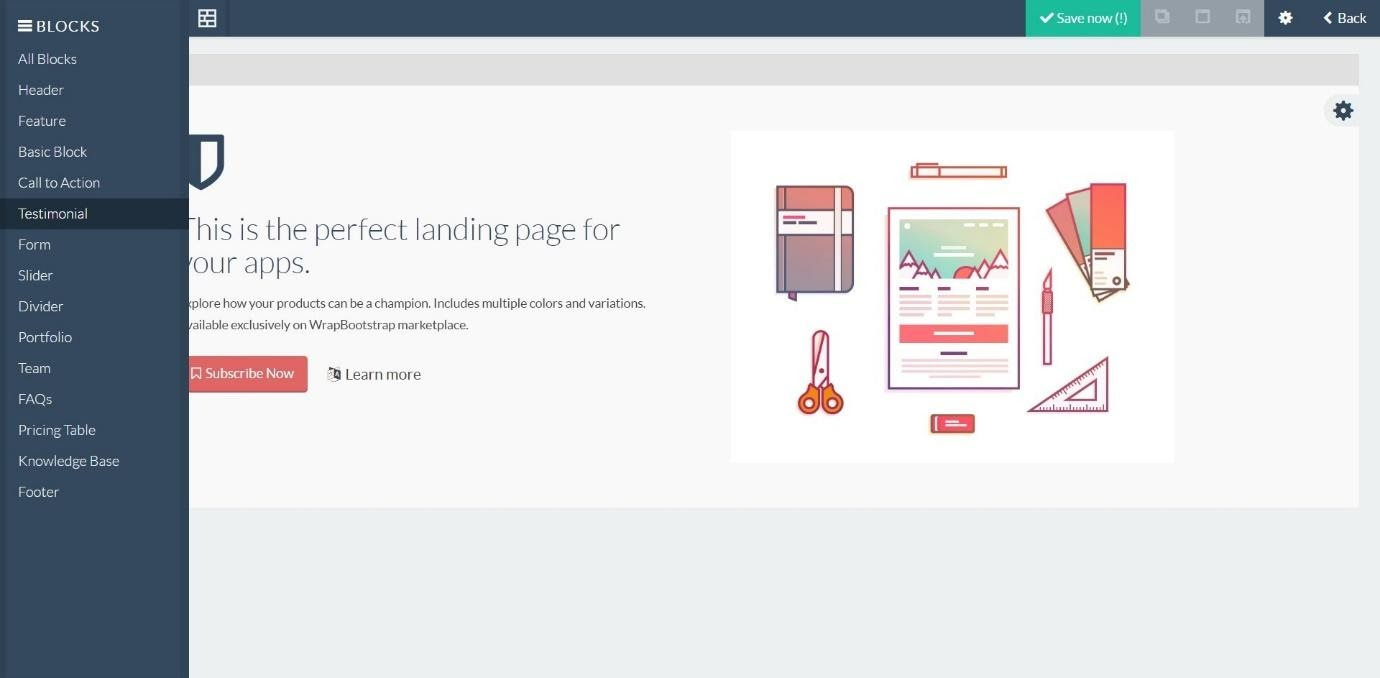 landing pages in Agile CRM