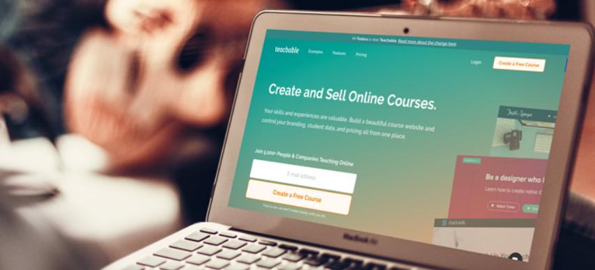 teachable sell courses