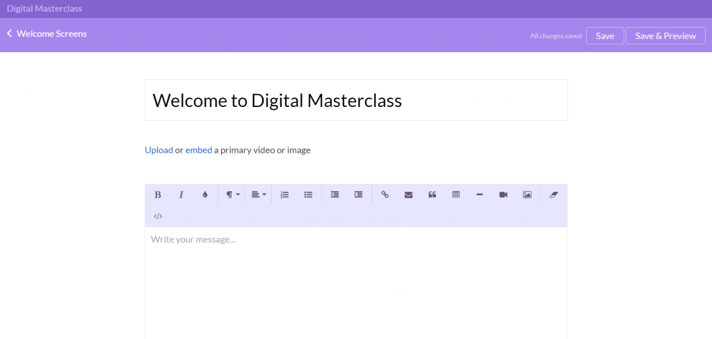 digital masterclass