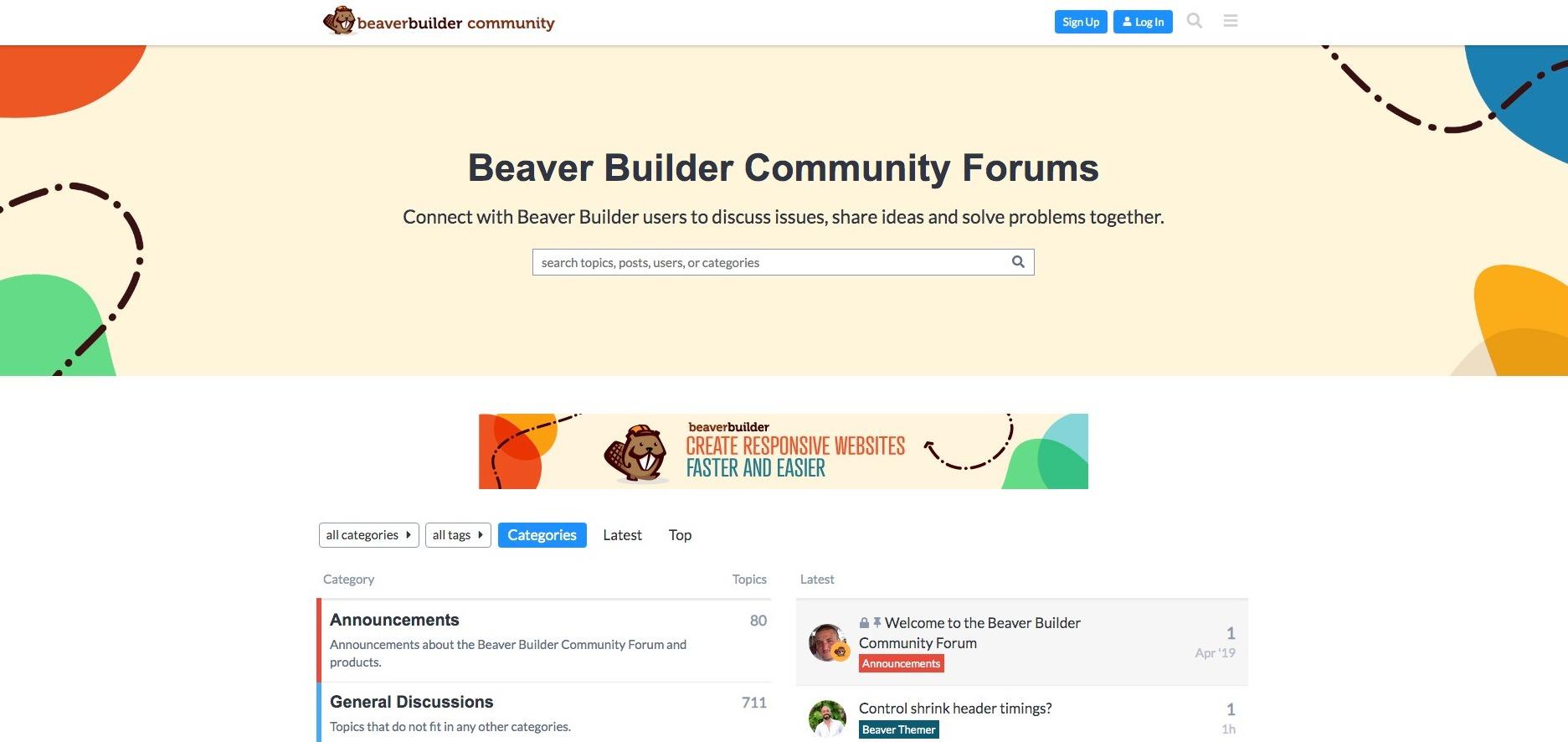 Beaver Funnels