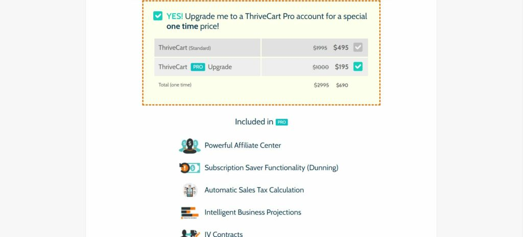 ThriveCart's Pricing